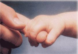 parenting hand and finger