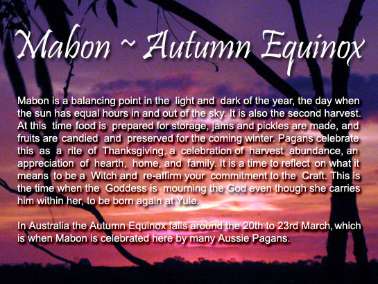 equinox autumn