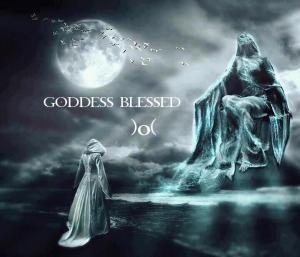 goddess blessing