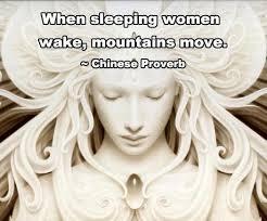 when women wake - mountains move