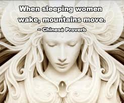 when women wake - mountains move