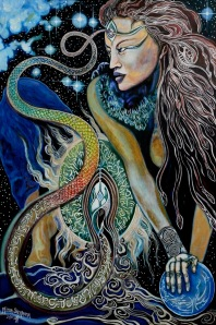 goddess of serpent